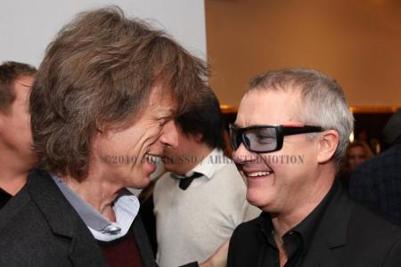 Mick Jagger & Hirst