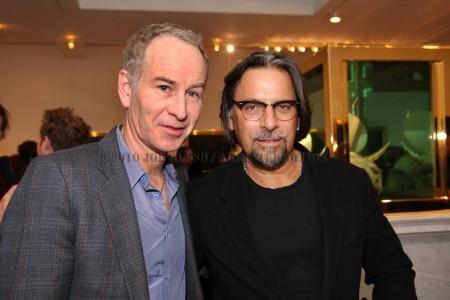Johan McEnroe and Friend