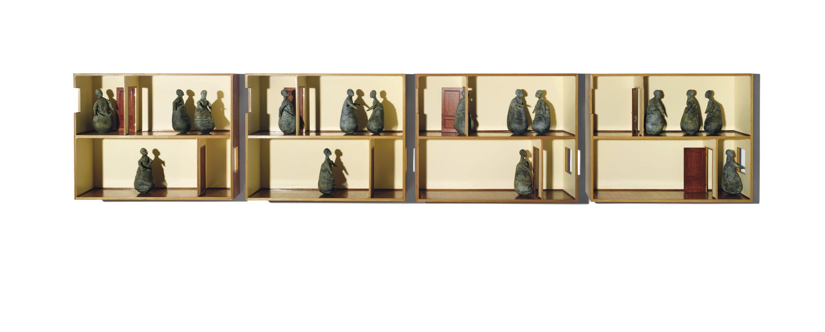 31½ x 39 3/8 x 11 7/8in (80 x 100 x 30cm) - est. £300,000 - £400,000