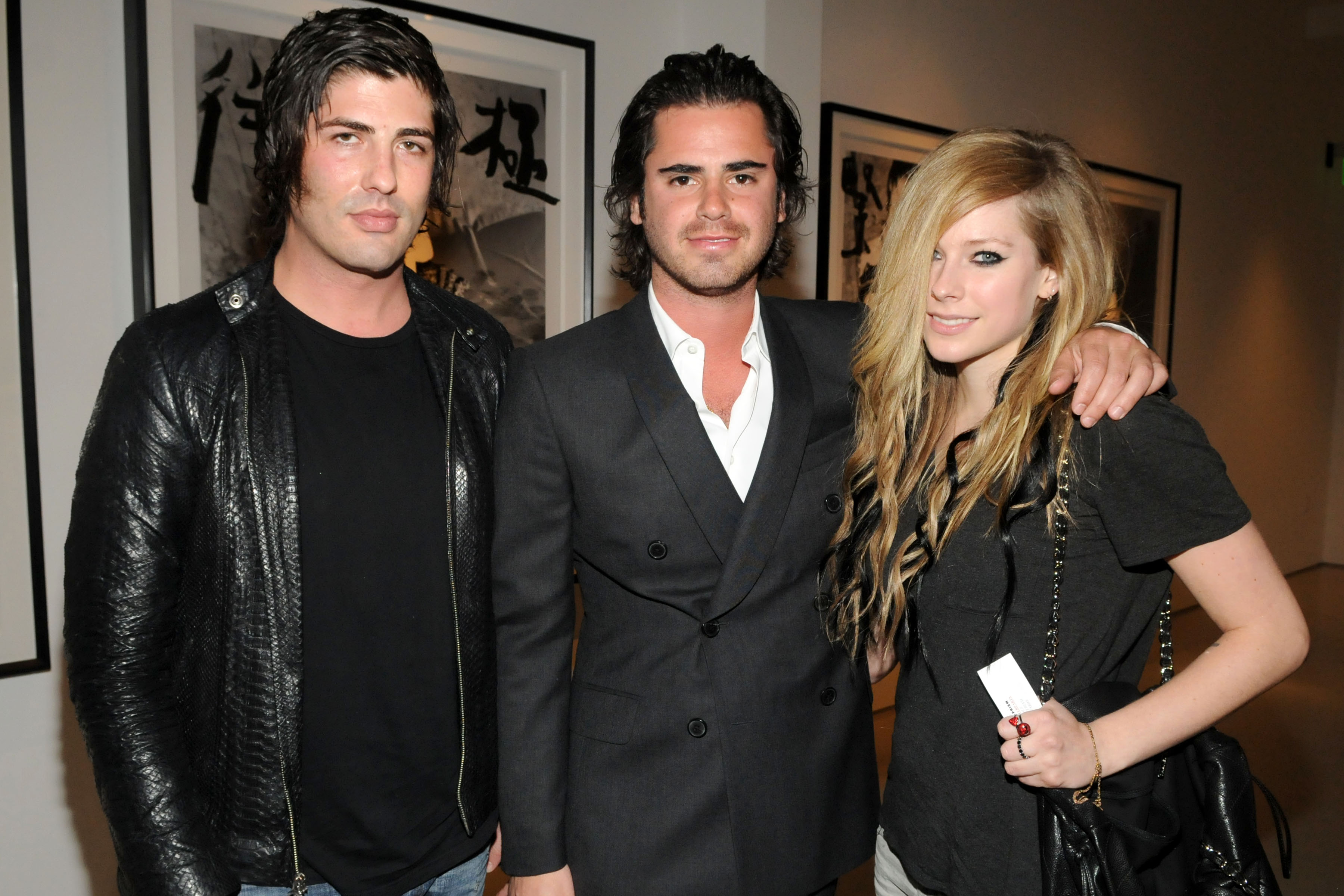 Brandon Davis, Jared Najjar, Avril Lavigne