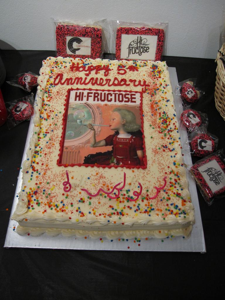 Happy Anniversary Hi-Fructose!