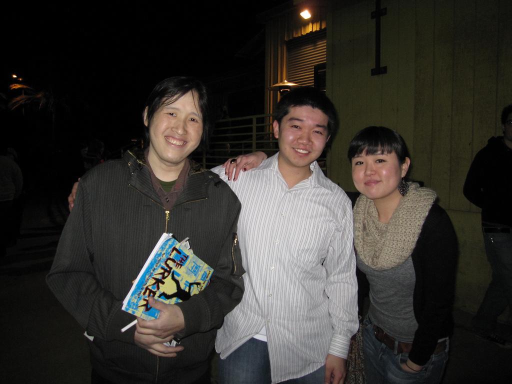 Luke Chueh, Marcus Lo, Audrey Kawasaki