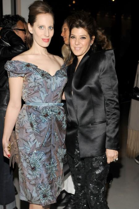 Liz Goldwyn and Marisa Tomei