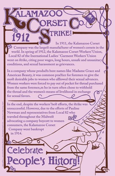 Shaun Slifer / Sarah Beth - Kalamazoo Corset Company Strike