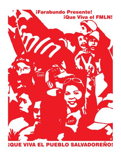 Melanie Cervantes - Que Viva El FMLN!
