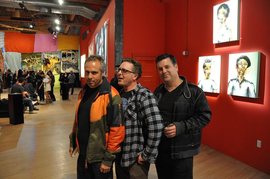 Gary Baseman, Adam Wallacavage, Mark Dean Veca