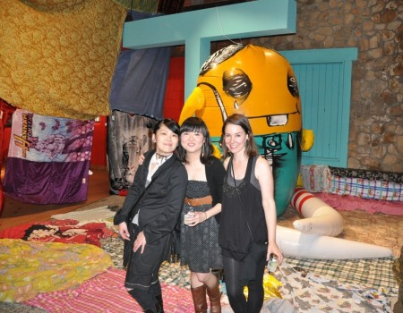 Mari Inukai, Audrey Kawasaki, Leah Whitaker
