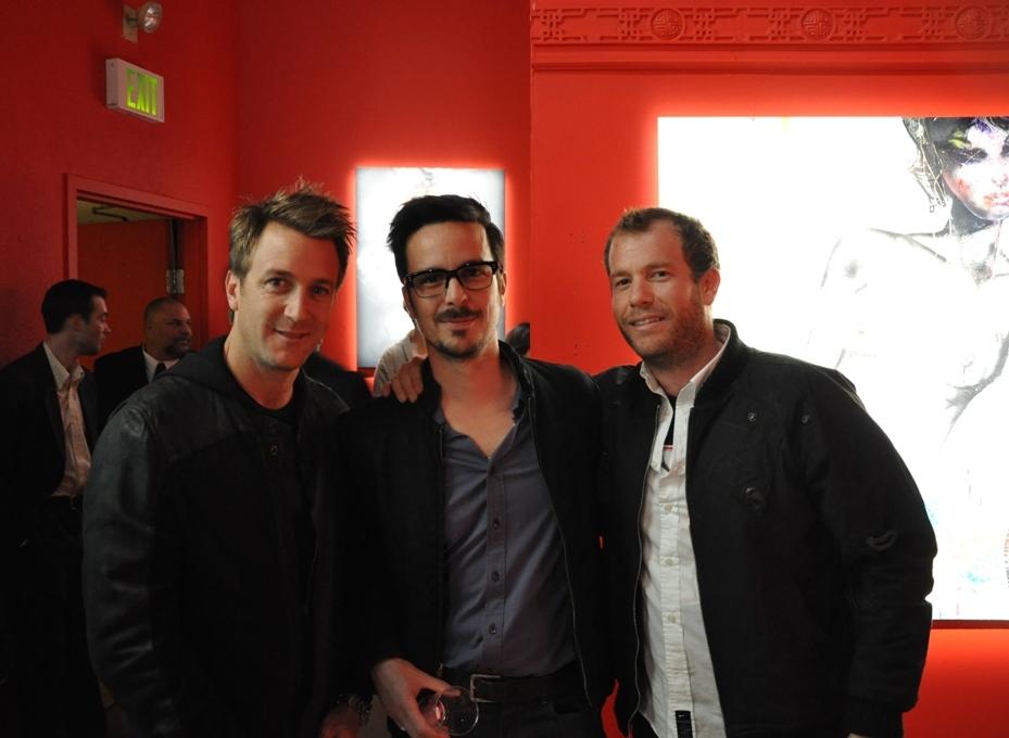 Larry, Tim Biskup, Dr. Romanelli