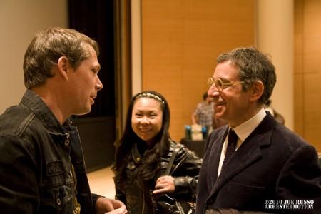 Shep w/ Aiko & Jeffrey Deitch