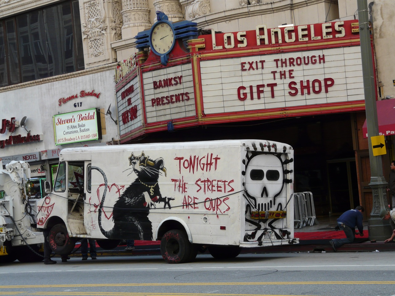 "Openings: Banksy – ""Exit Through The Gift Shop"" LA premiere ..."
