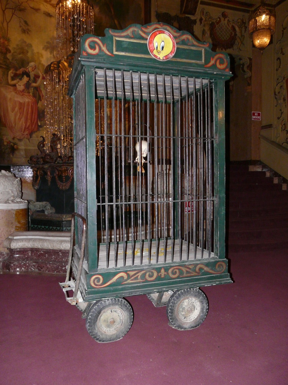 Caged Tweety