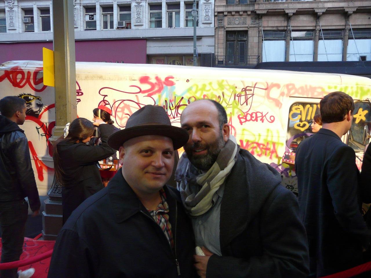 Jonathan LeVine & Marc Schiller (Wooster Collective)