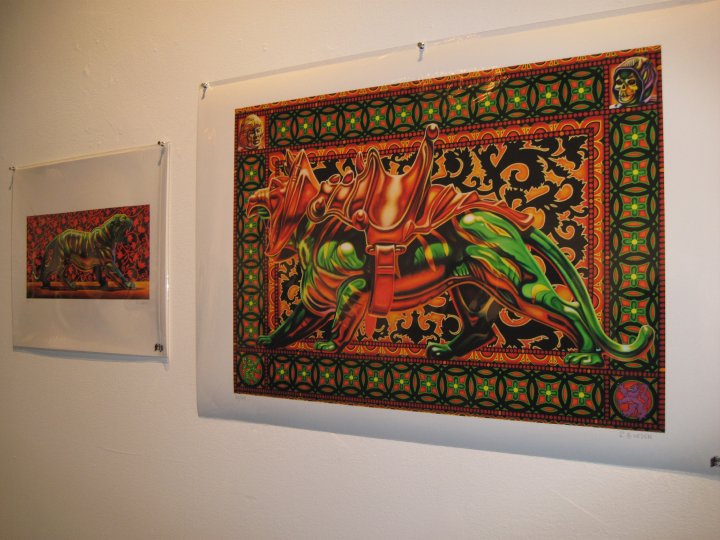 Prints by Robert Burden