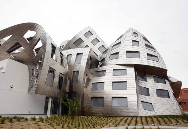 The Cleveland Clinic Lou Ruvo Center for Brain Health in Las Vegas was designed by architect Frank Gehry. (Isaac Brekken, For The Times / May 16, 2010)