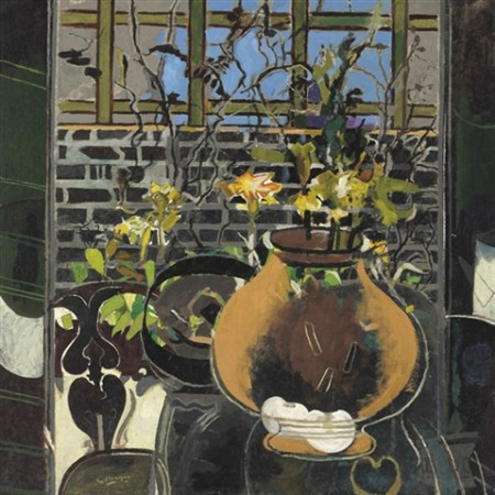 "George Braque - ""La Treille"""
