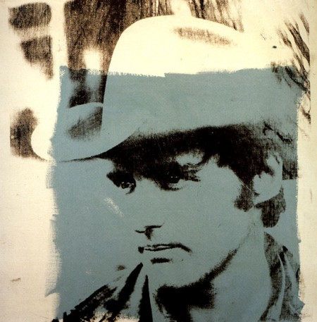 Dennis Hopper 1971 - by Andy Warhol