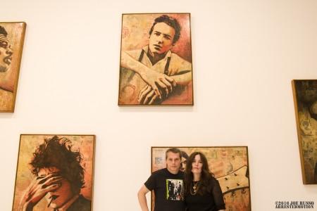 Shepard with Kate Simon