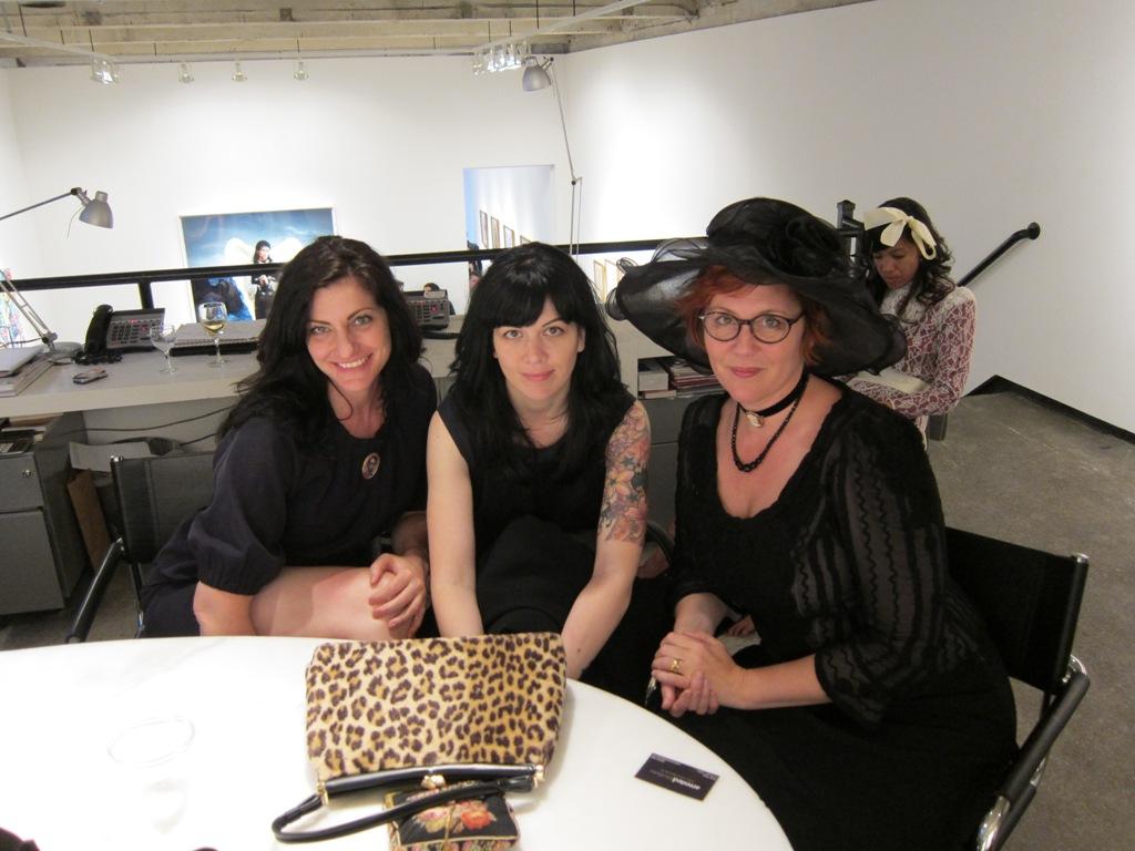 Alix Sloan, Kirsten Anderson, Marion Peck