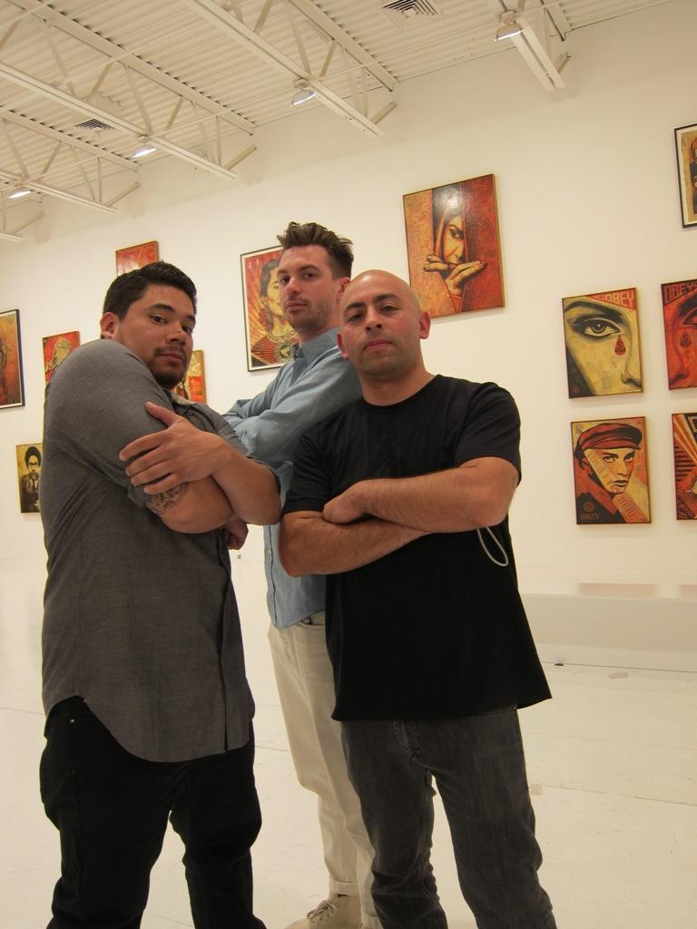 Dan Flores, Friend, & Andres Guerrero
