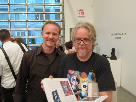 Morgan Spurlock + Ron English