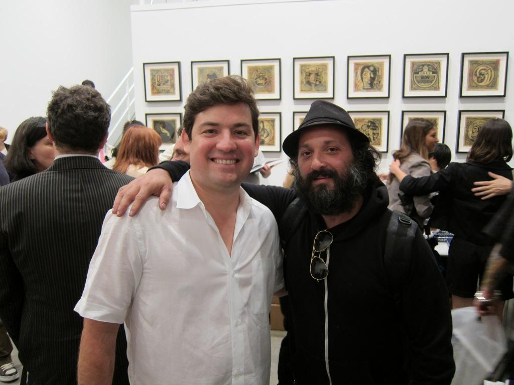 Pedro Alonzo + Mr. Brainwash... do we sense a coming retrospective?