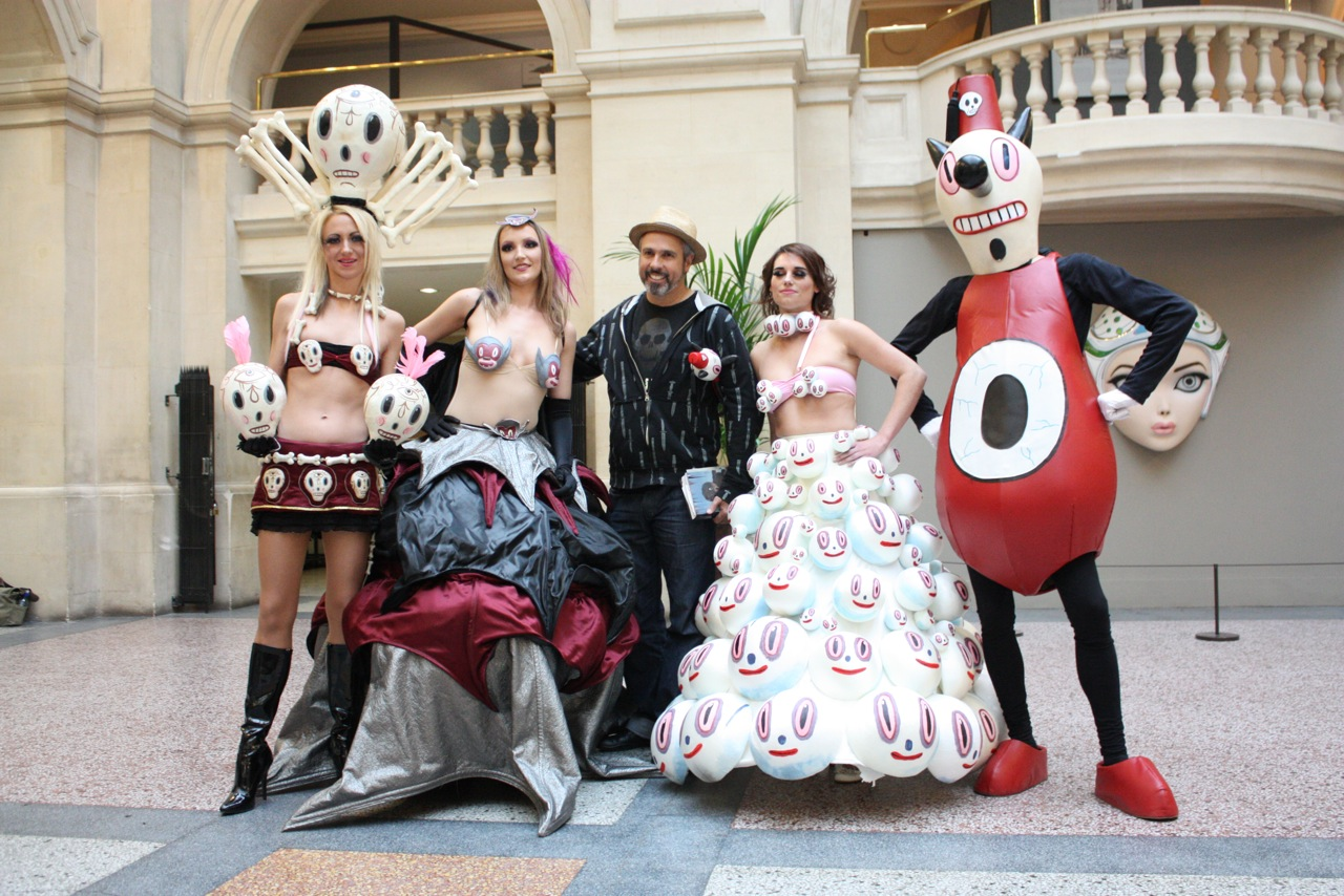 Baseman & his cast of characters