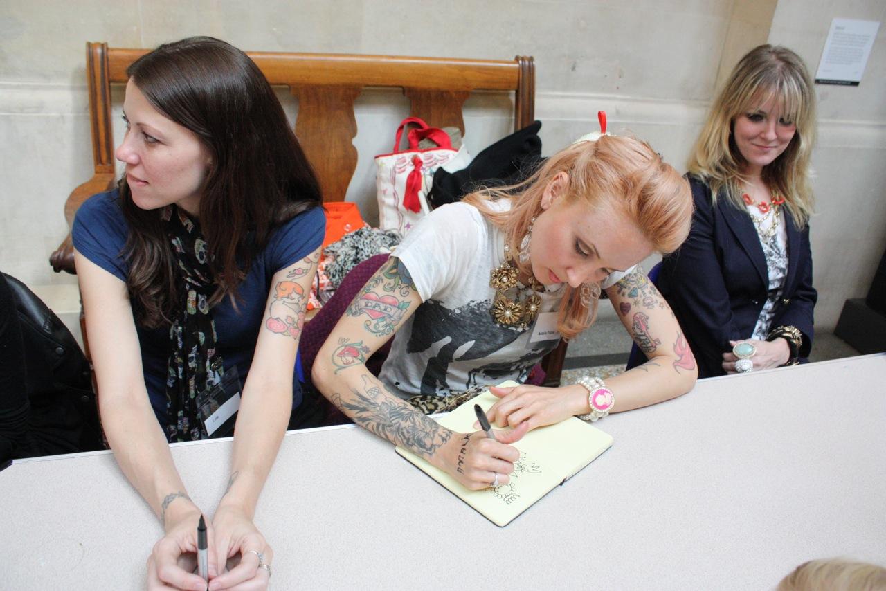 Lola, Natalia Fabia & Brandi Milne