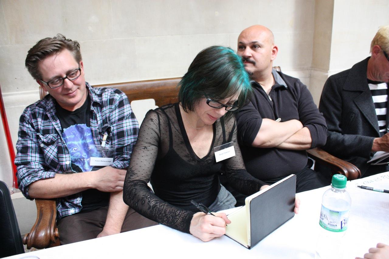 Adam Wallacavage, Sarah Folkman, Michael Mararian