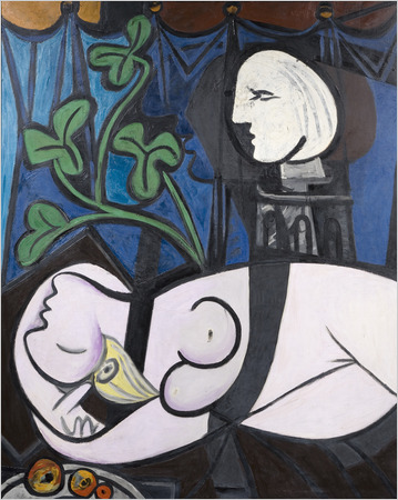 "Pablo Picasso - ""Nude, Green Leaves and Bust"" (1932)"