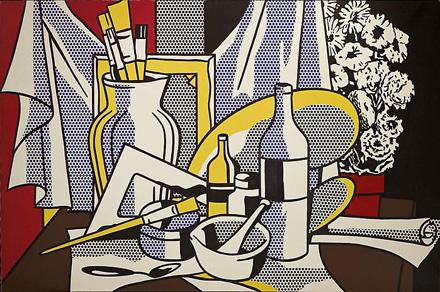 roy-lichtenstein-still-life-with-palette-1972-gagosian
