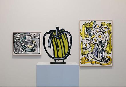 roy-lichtenstein-still-lifes-gagosian-2010-installation-view