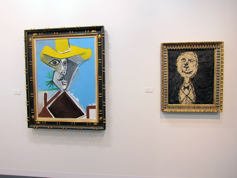 Picasso and Dubuffet