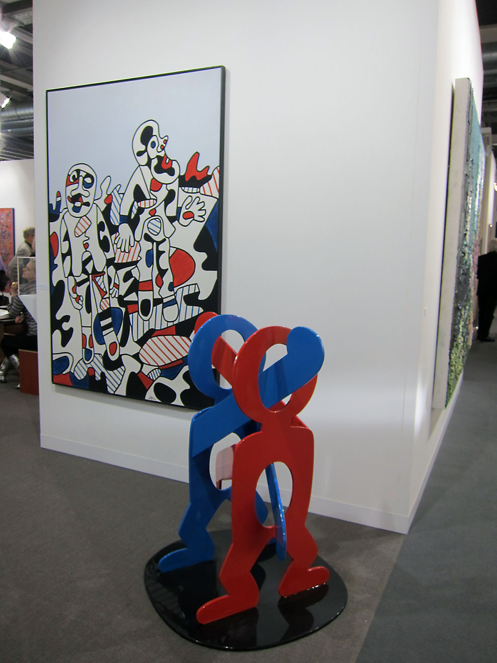Dubuffet and Haring