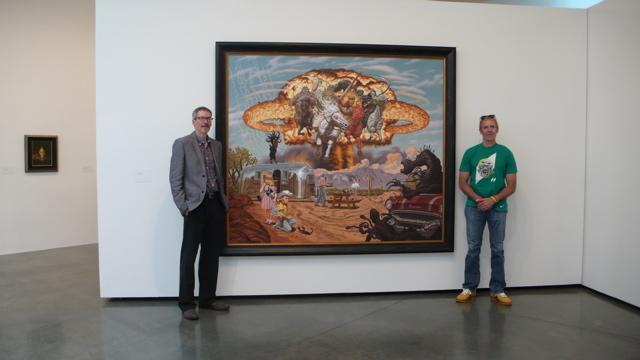 Todd Schorr with Sandy Bodecker
