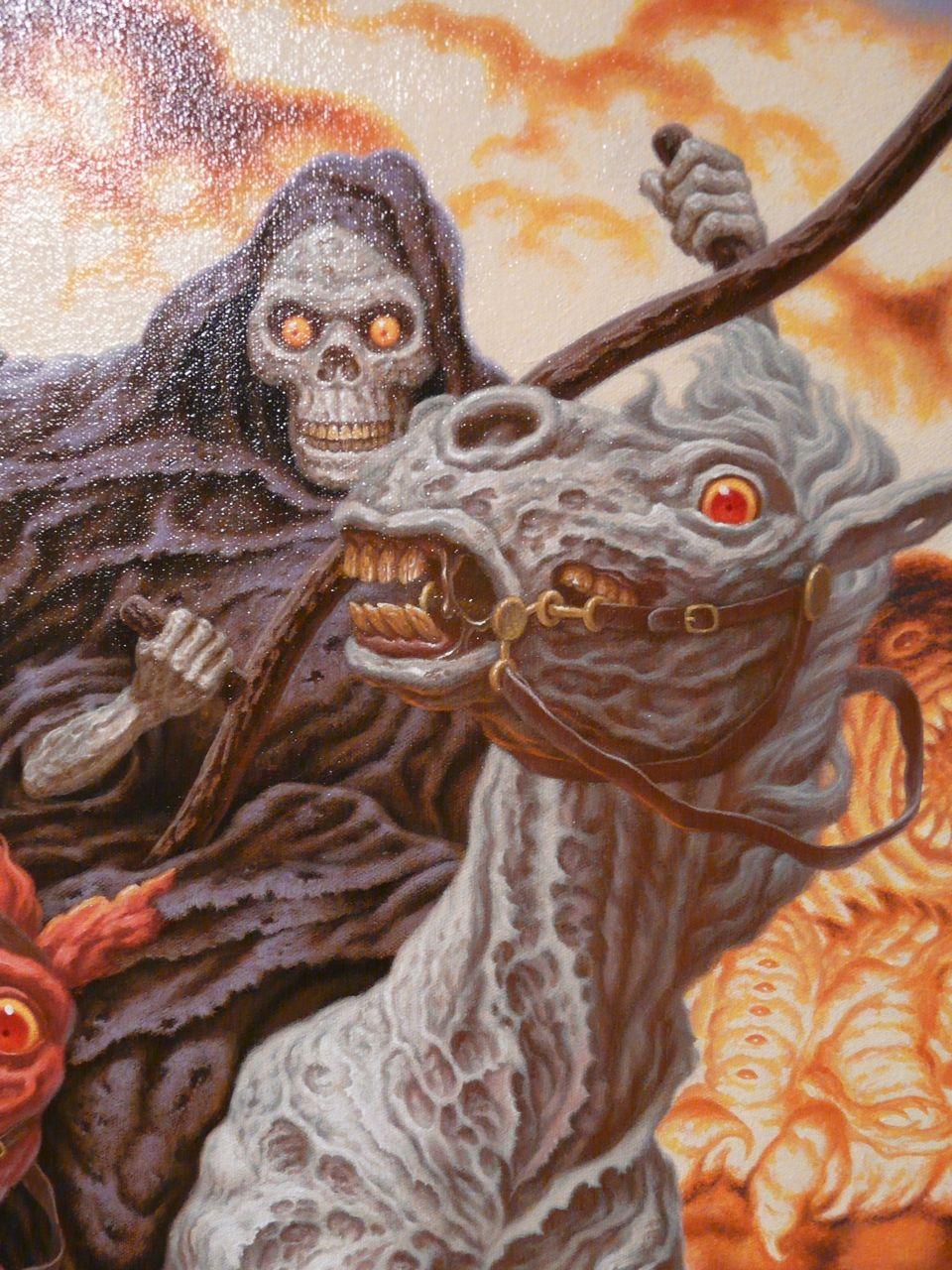 The fourth horseman - Death