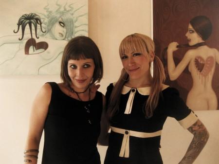 Alexandra Mazzanti & Tara McPherson