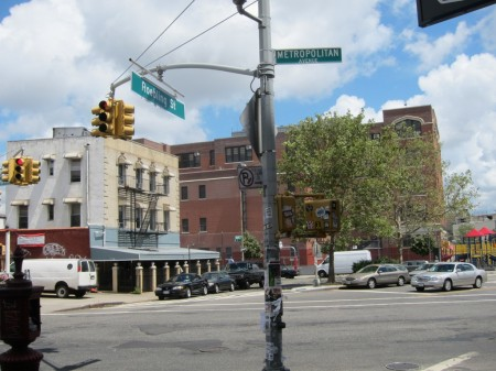 Corner of Metropolitan & Roebling