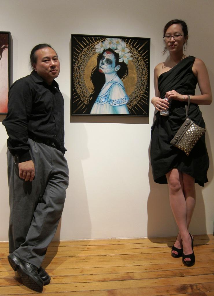 Travis Louie and Sylvia