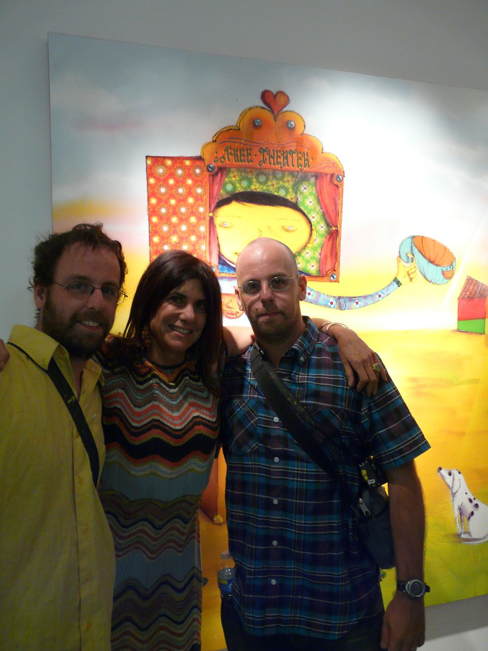 Os Gemeos & Marsea Goldberg (New Image Art)