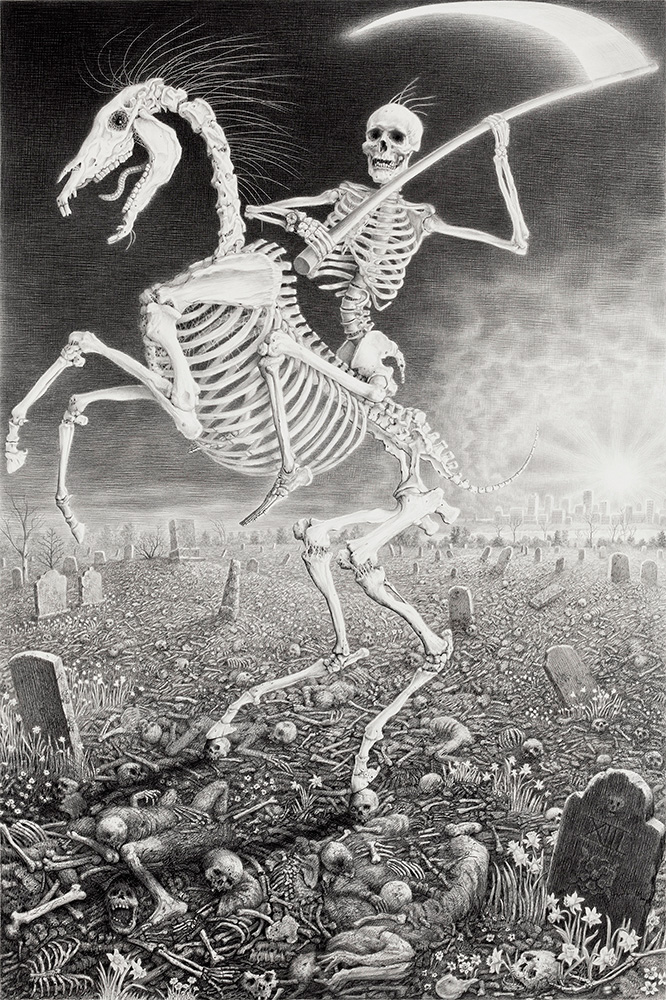 Death - Laurie Lipton
