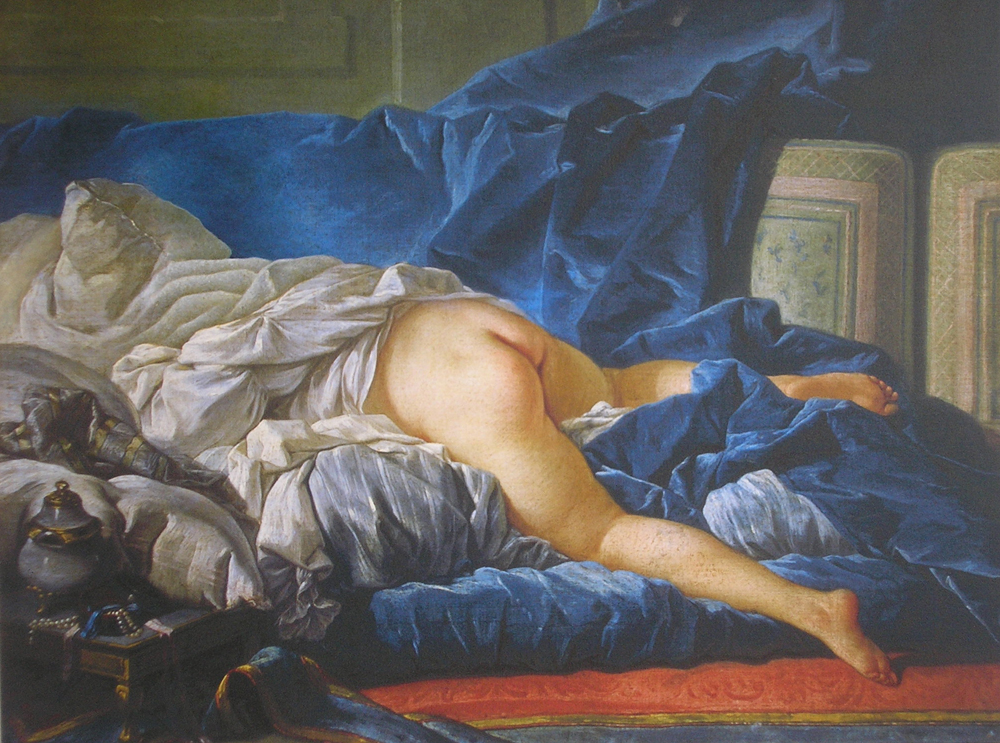 Charlotte Bracegirdle - The Odalisque (after Boucher)