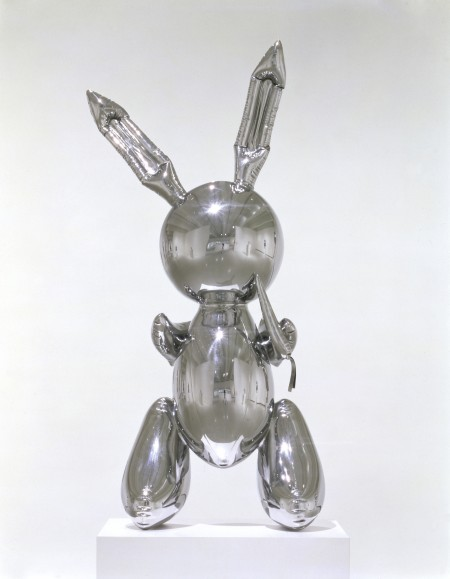 """Jeff Koons - """"Rabbit"""" (1986) - owned by Broad"""