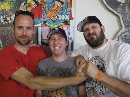 Skinner, Dave Correia, Alex Pardee