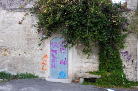 The taggers were also out and about...