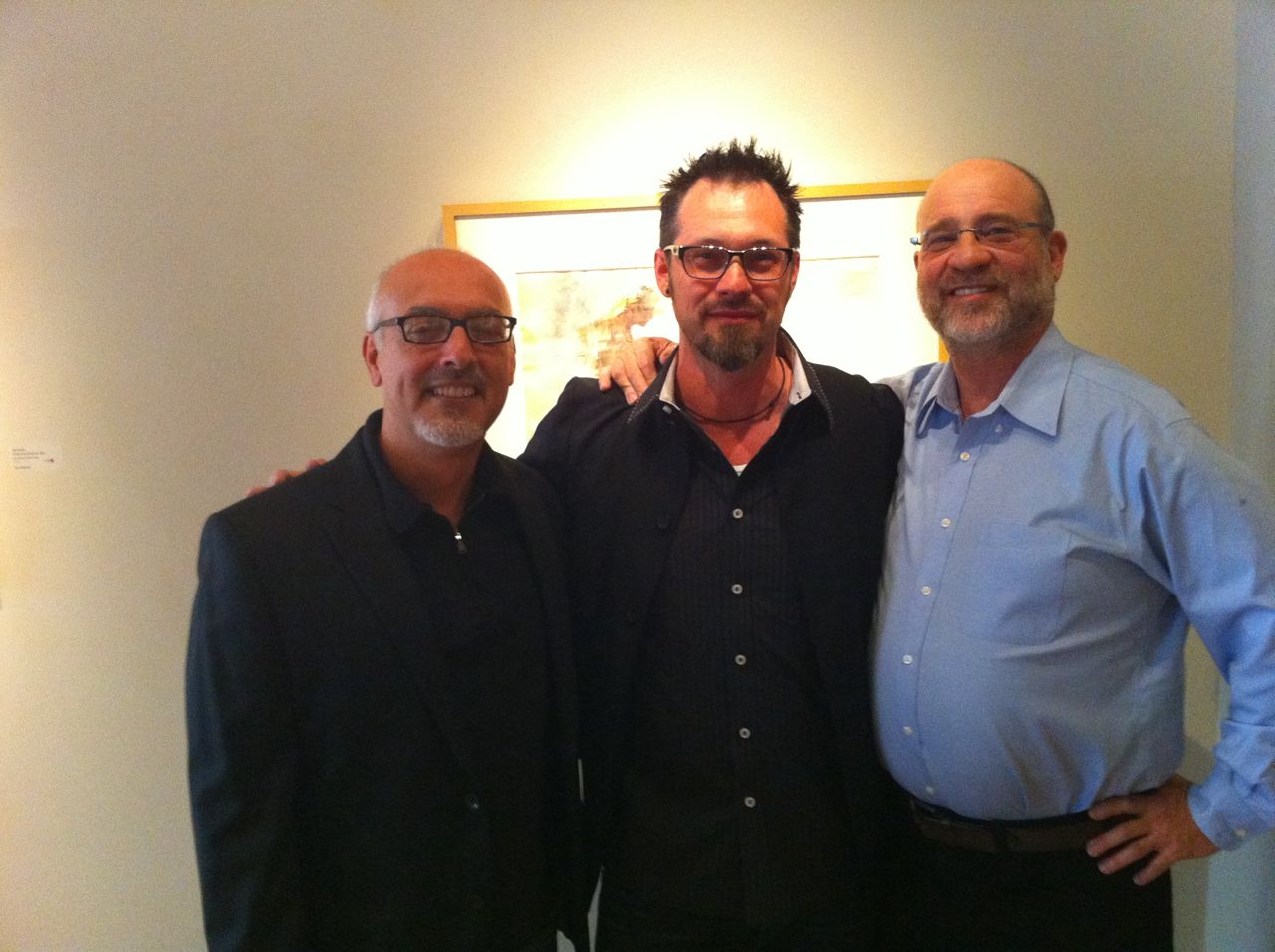 Kent Williams (middle)