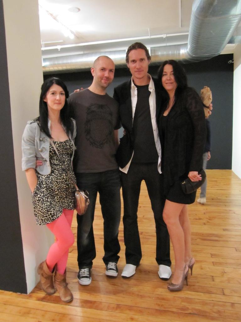 Lizzie, Ian Francis, Dave & Jana