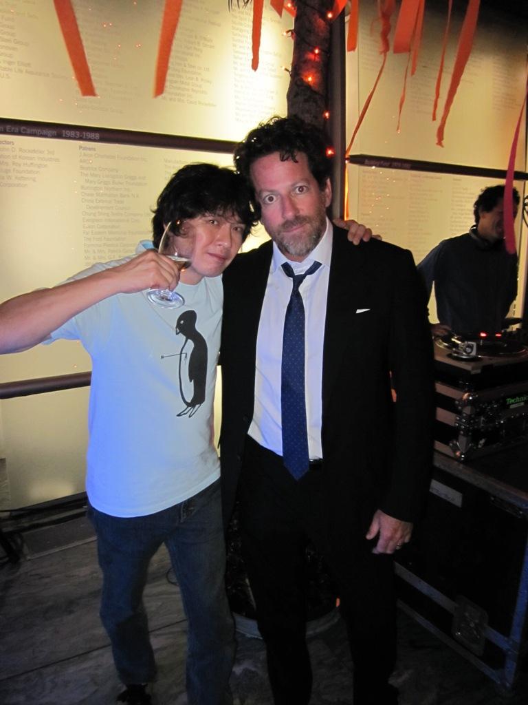Yoshitomo Nara & Timonthy Blum of Blum & Poe
