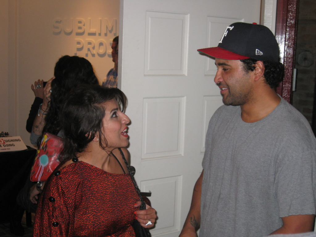 Naheed Simjee with Retna