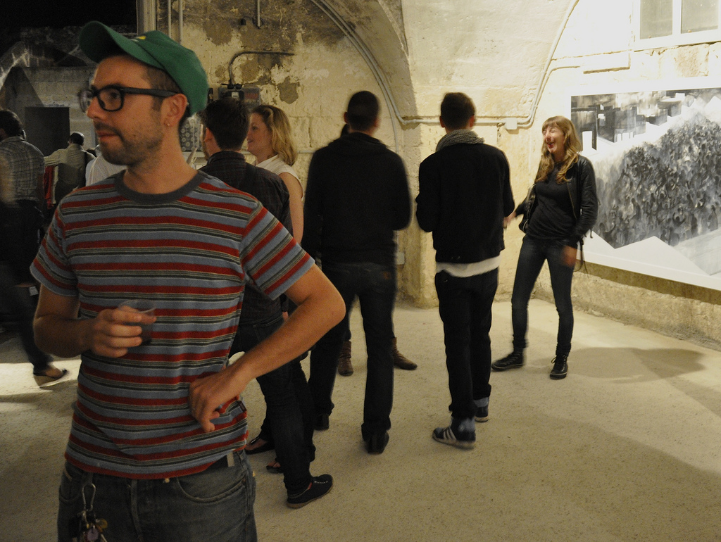 Giorgio - right hand man of Angelo and gracious tour guide