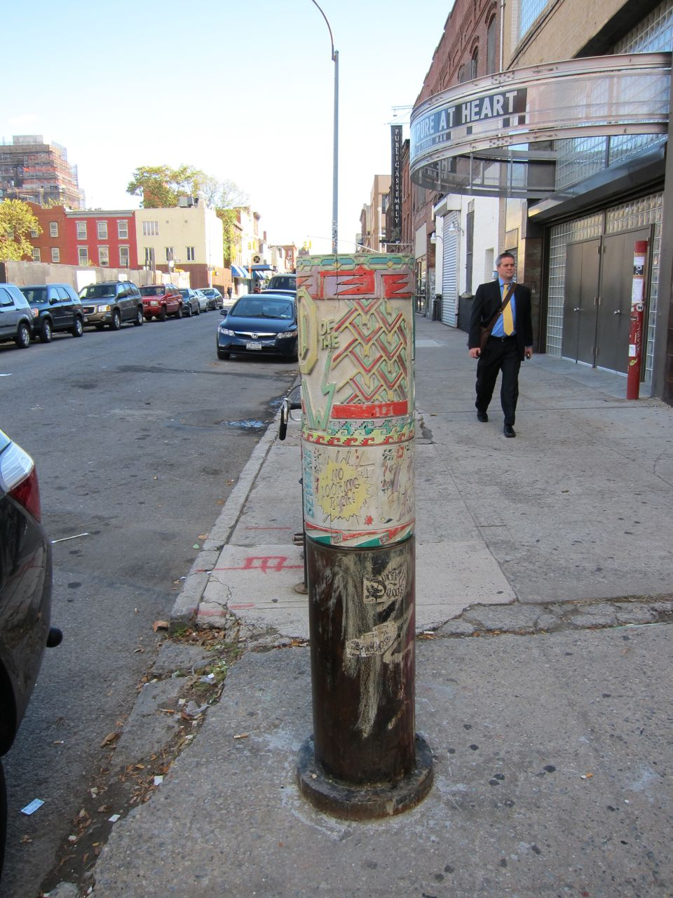 A prayer wheel in the wild! It is almost a year old...